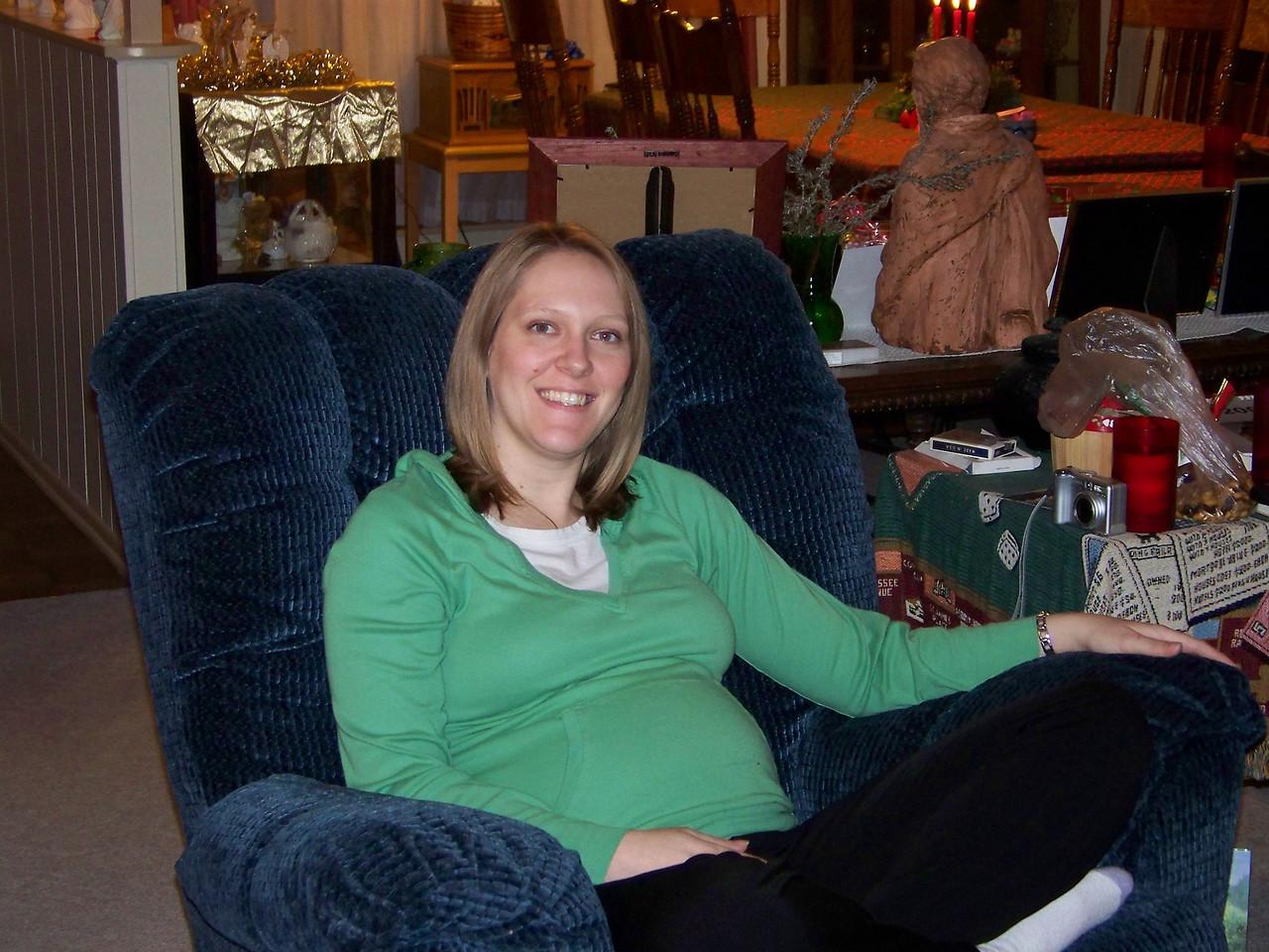 Pregnant Kalyn