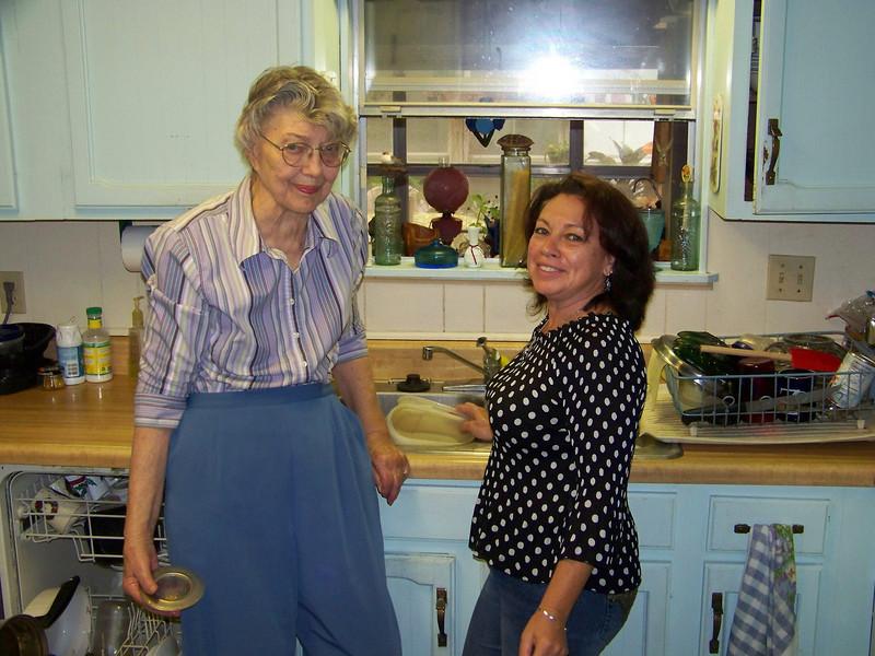 Mom and Irene (Mark's girlfriend)