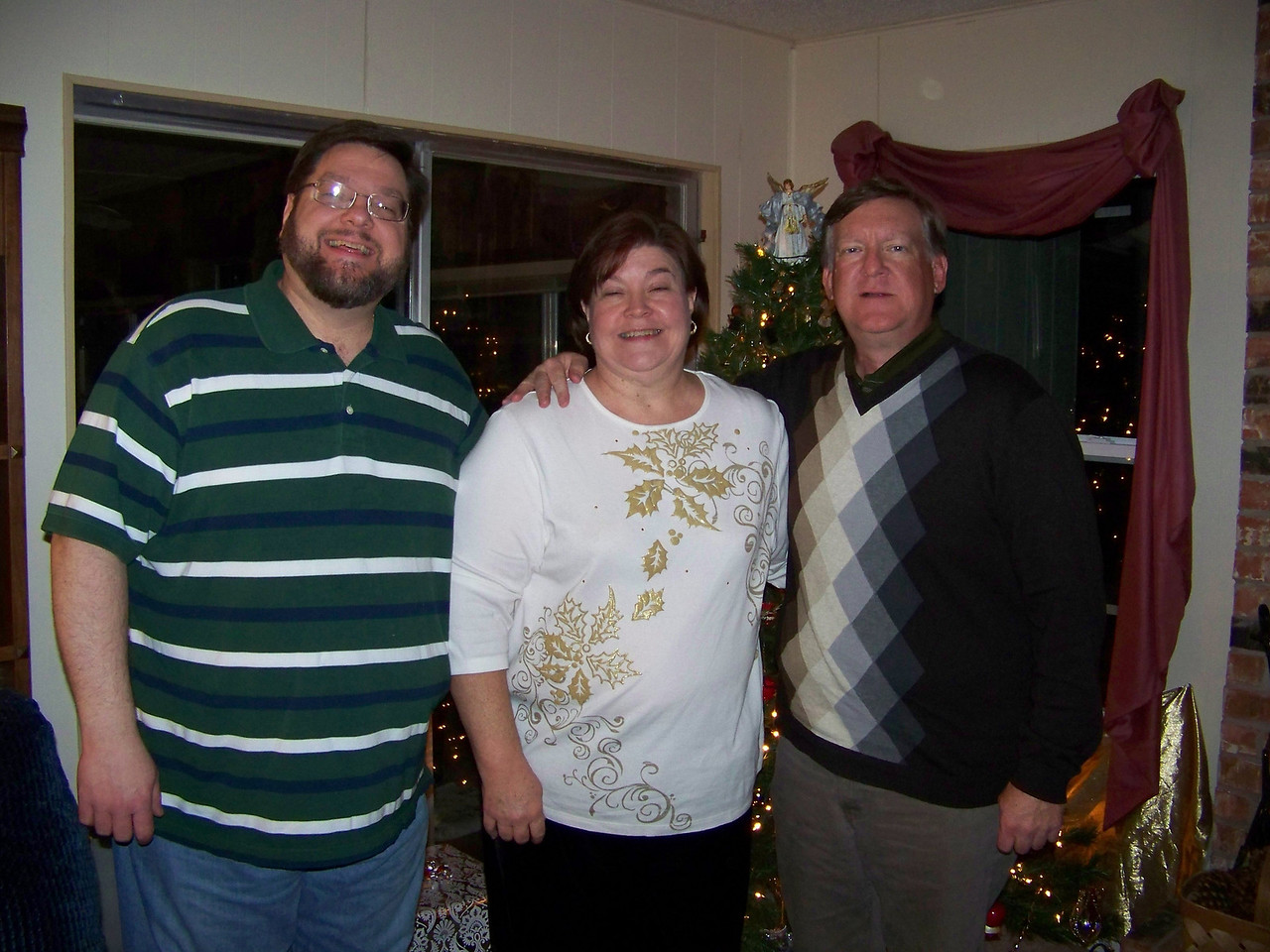 The Triesch kids:  Jon, Wendy and Mark.