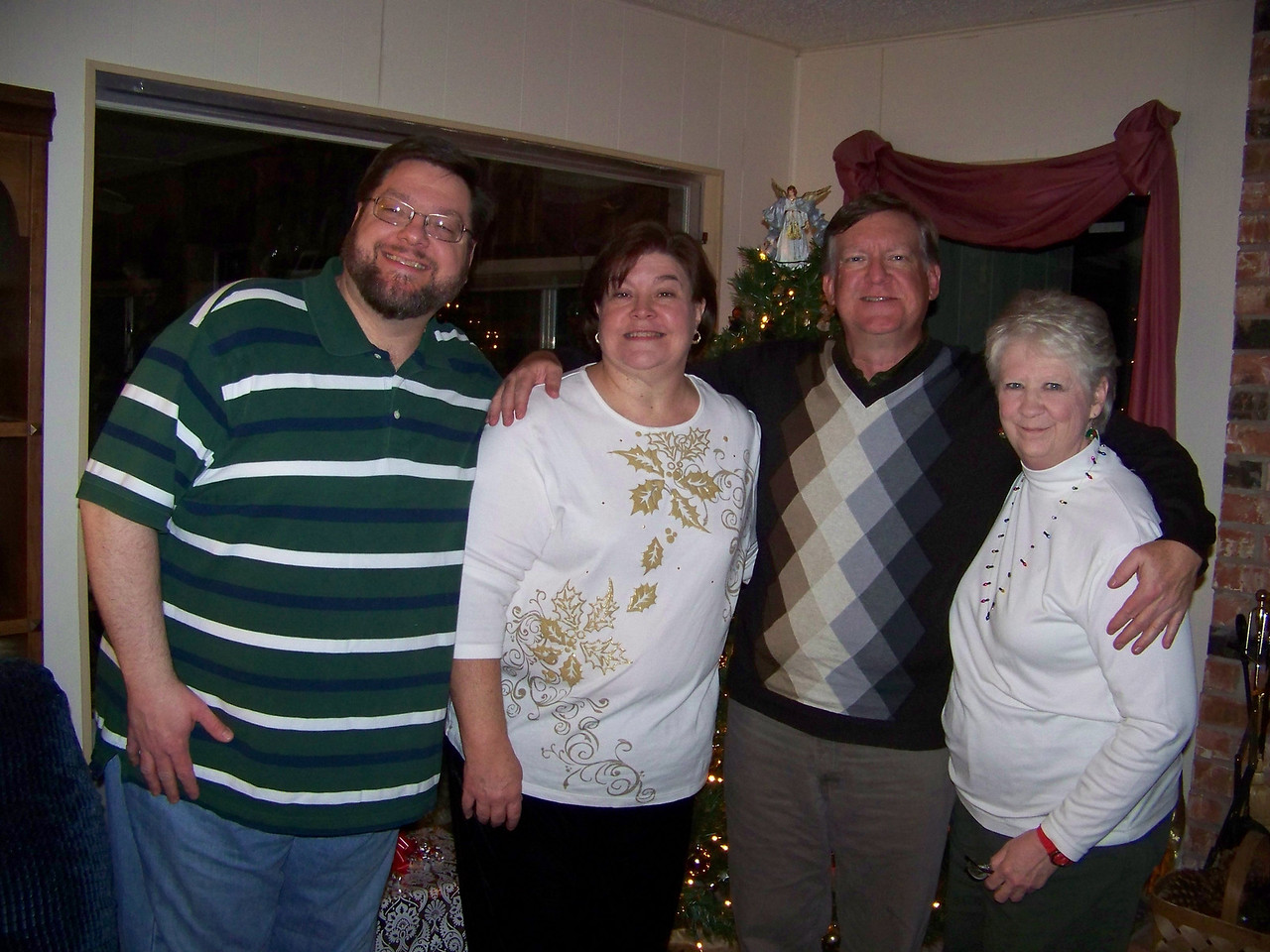 Jon, Wendy, Mark and our newest sibling Sheri.