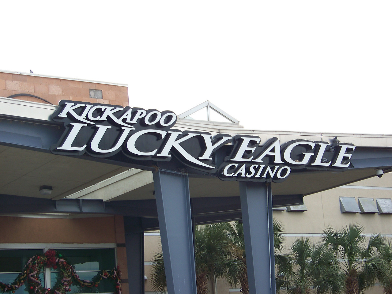The Lucky Eagle is the first, and so far only, casino in all of Texas.