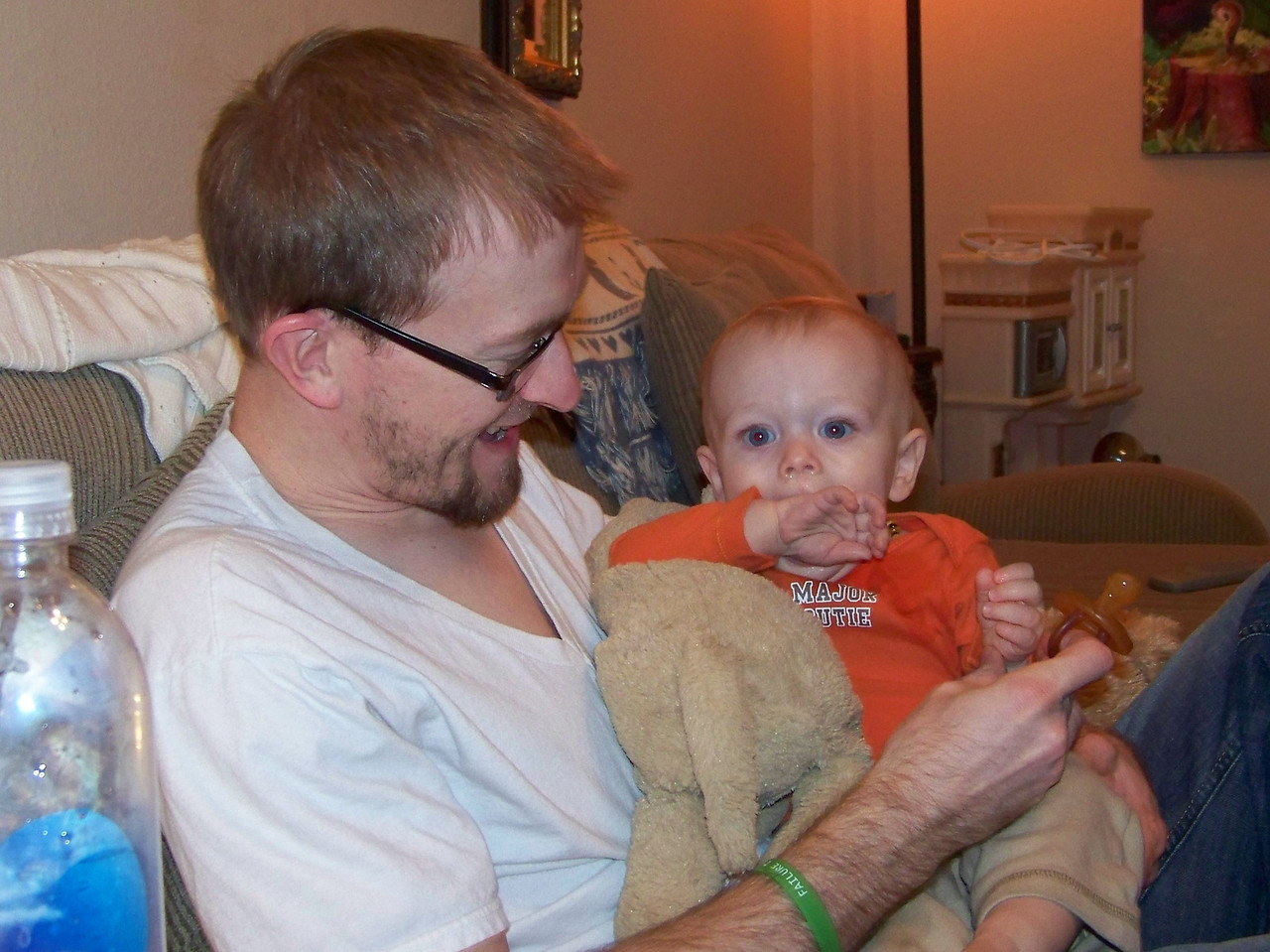 Josh and Jack.  January 2013.
