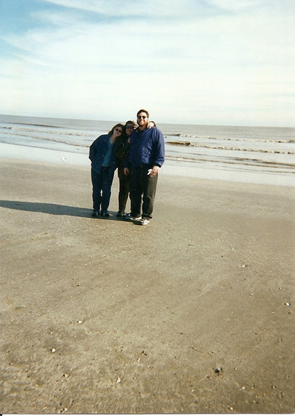 Jenna, Wendy, and Jon.  I think this was at South Padre, but I don't remember the year (early 2000s?).