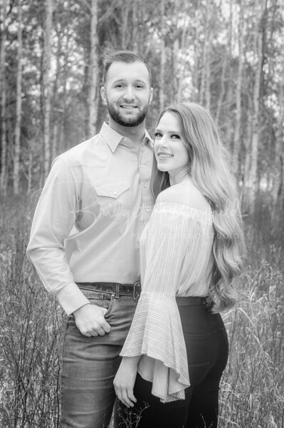 Hopkins Engagement - Black and White FR-2
