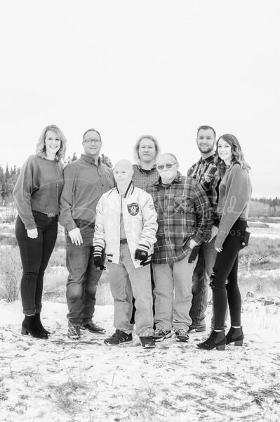 Hopkins Family - Black and White WM-15