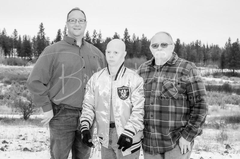 Hopkins Family - Black and White WM-11