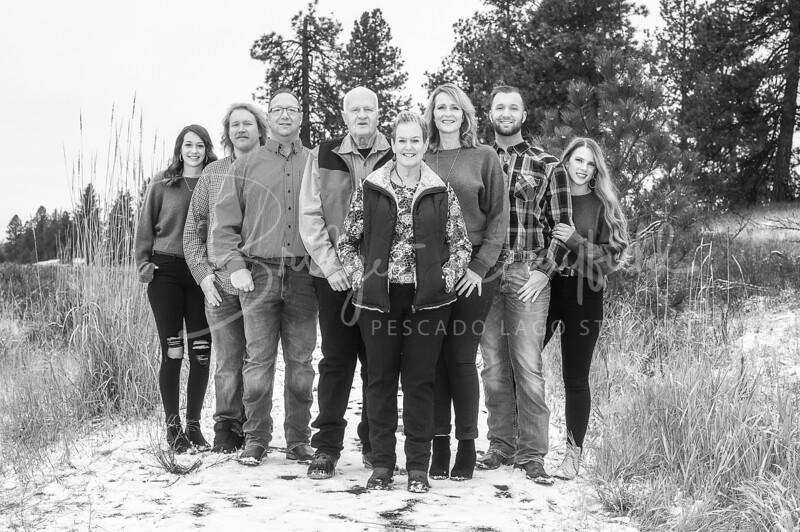 Hopkins Family - Black and White WM-41