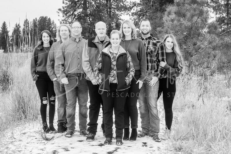 Hopkins Family - Black and White WM-39