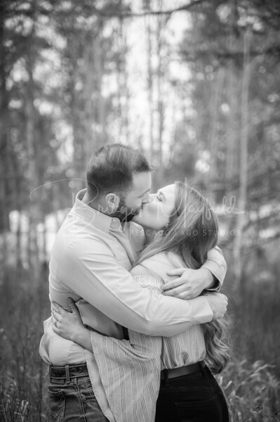 Hopkins Engagement - Black and White FR-31