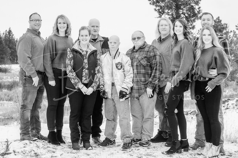 Hopkins Family - Black and White WM-9
