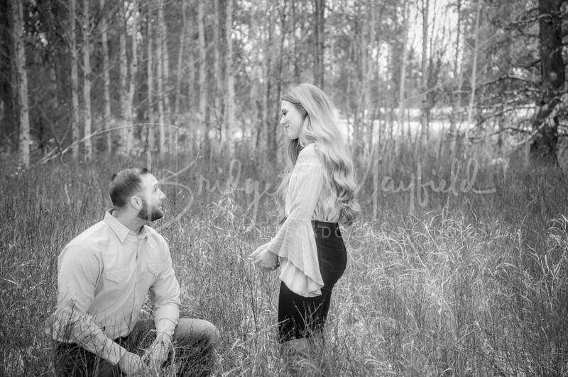 Hopkins Engagement - Black and White FR-13