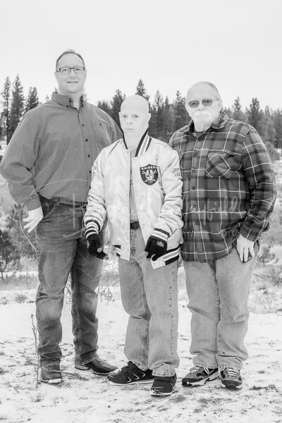 Hopkins Family - Black and White WM-12
