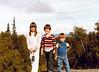 August 19, 1980 - (Chugach State Park, Alaska) - Cristen, Michael & Jonathon