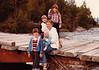 August 13, 1980 - (Seward, Alaska) - Michael, Jonathon, Andrew, Vera and Cristen