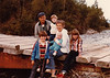 August 13, 1980 - (Seward, Alaska) - Edwin, Michael, Jonathon, Vera, Andrew and Cristen