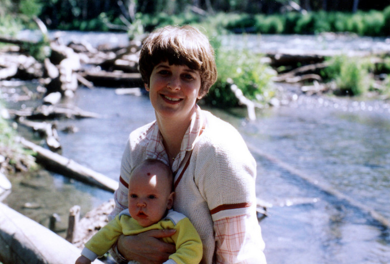 July 1980 - (Anchorage, Alaska) - Mary Anne and Andrew