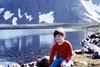 June 10, 1981 - (Rabbit Lake, Chugach State Park, Alaska) - Michael after long hike