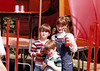 June 13, 1981 - (Campbell Creek Park, Anchorage, Alaska) - Michael, Jonathon & Cristen at the Renaisance Pleasure Fair.