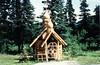 July 7, 1981 - (Eklutna, Alaska) - Russian Orthodox chapel at burial ground