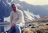 June 10, 1981 - (Rabbit Lake, Chugach State Park, Alaska) - David after long hike