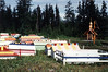 July 7, 1981 - (Eklutna, Alaska) - Russian Orthodox burial ground