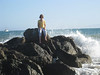 Waves on Ventura beach