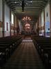 Inside San Buenaventura Mission