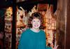 Cristen at Käthe Wohlfahrt Weihnachtsmärkte - (December 22, 1987 / Rothenburg ob der Tauber, Ansbach District, Mittelfranken, Bavaria, West Germany) -- Cristen