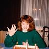 Cristen celebrating 16th Birthday [a day early] - (November 26, 1988 / Obere Hohl, Gimsbach, Rheinland-Pfalz, West Germany) -- Cristen