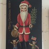 MaryAnne purchased a Bavarian Painted Santa Claus - (September 15, 1988 / Ramstein Airbase, Rheinland-Pfalz, West Germany) -- MaryAnne's Birthday Gift