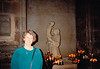 MaryAnne in Cathédrale Notre Dame de Reims (April 5, 1990 / Cathédrale Notre Dame de Reims, Champagne-Ardenne région, Reims, France) -- MaryAnne
