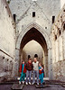 Cashel Monastery (April 16, 1990 / Cashel, County Tipperary, Ireland) -- Jonathon, Michael, David, Andrew