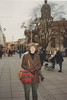 MaryAnne with Göteborg Cathedral (February 12, 1990 / Göteborg, Sweden) -- MaryAnne