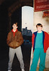 Michael & Jonathon at Cardiff Castle (April 6, 1990 / Cardiff, Glamorgan County, Wales, United Kingdom) -- Michael & Jonathon