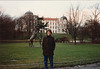 MaryAnne with Schloss Celle (February 13, 1990 / Celle, Lower Saxony, West Germany) -- MaryAnne