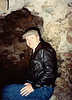 David in Ballymallis Castle (April 12, 1990 / Killorglin, County Kerry, Ireland) -- David