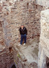 David in Ballymallis Castle (April 12, 1990 / Killorglin, County Kerry, Ireland) -- David