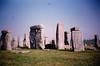 Stonehenge (April 6, 1990 / Stonehenge, Amesbury, Wiltshire County, England, United Kingdom) -- Stonehenge