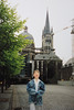 Andrew and the Aachen Cathedral (April 18, 1991 / Aachen, North Rhine-Westphalia, West Germany) -- Andrew
