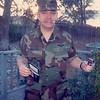 David in Combat Dress before Honduras - (November 7, 1986 / Sandstone Court, Folsom, Sacramento County, California) -- David