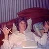 MaryAnne and Joan in the Crowley house - (December 24, 1986 / Manteca Lane, Bridgeton, Saint Louis County, Missouri) -- MaryAnne and Joan Crowley
