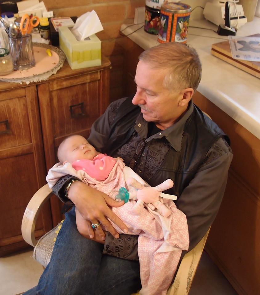 Our first grandchild, Elora