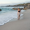 Sunset walk on Camp's Bay Beach, South Africa