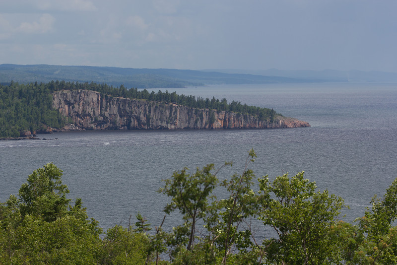Shovel Point from the top of Palisade Head.