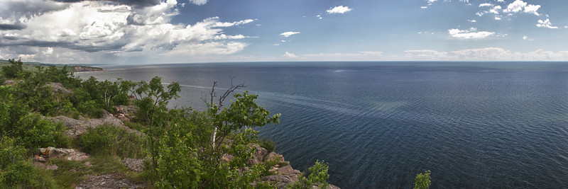 From the top of Palisade Head