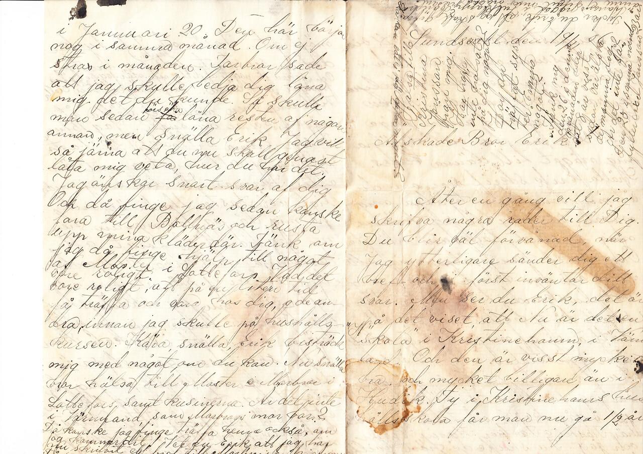 Erik Lyman brev sid1
