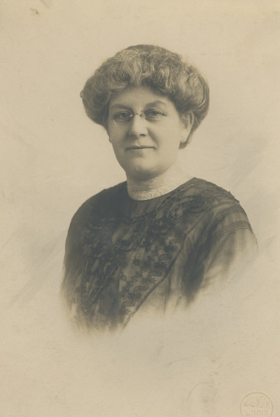 """""""Judy Dearest: Here you have a picture of my dear mother taken about three years ago. Lester. Sunday Aoril 11, 1920"""""""