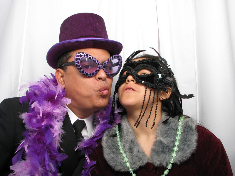 "2011 ""Midnight Masquerade"" silly photo booth sponsored by TriWest Alliance Healthcare"
