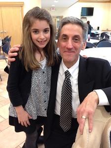 Ella Comparato and her Uncle Tom.
