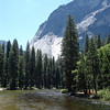 The Merced River along the grounds of the Ahwahnee